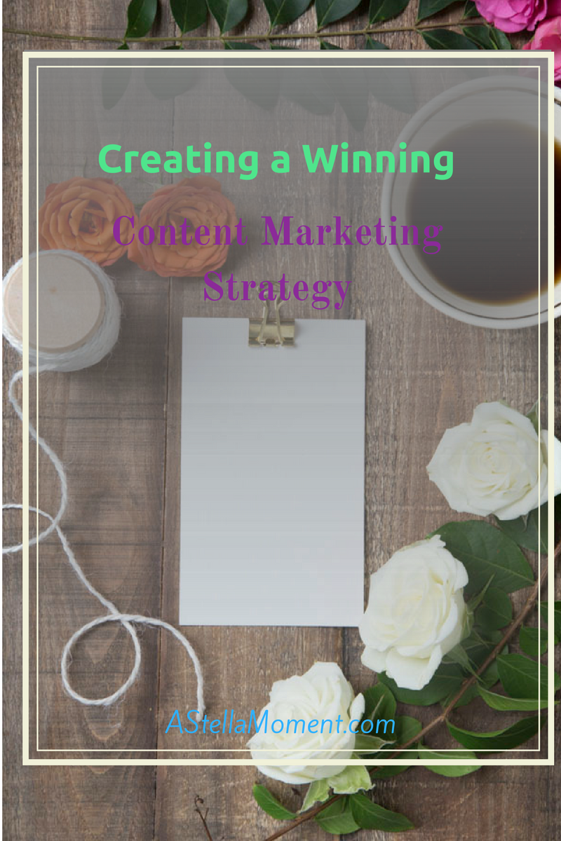 Jumping straight into selling your content without a content marketing strategy is setting yourself to fail. Here's how to create a winning strategy for your content!
